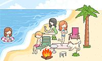 ترتيب الشاطئ