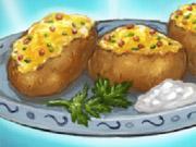 البطاطا المخبوزة