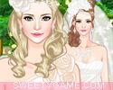 تلبيس الأميرة العروسة