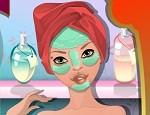 تنظيف ومكياج الوجه