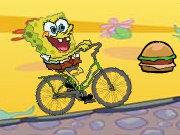 سبونج بوب ركوب الدراجة