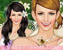 تلبيس أميرة زهور الزنبق