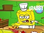 طبخ همبرجر سبونج بوب