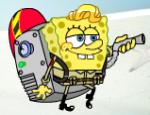 سبونج بوب تنظيف المحيط
